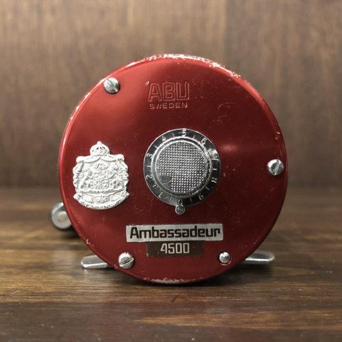 Abu Ambassadeur 4500 Cherry Red 780100 アブ アンバサダー 4500 チェリーレッド ベイトキャスティングリール ビンテージ オリジナル