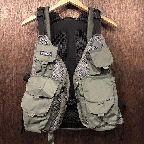 Patagonia Pack Vest Khaki All Size Back Pack Nos パタゴニア パックベスト カーキカラー オールサイズ バックパック デッドストック品
