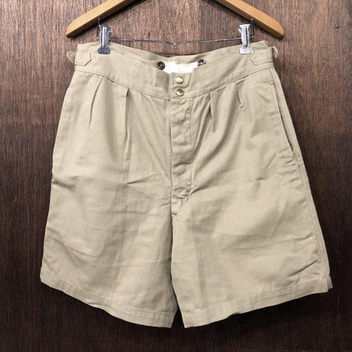 Australia Drill Cotton Army Gurkha Shorts Size5 Mint オーストラリア アーミー コットンドリル グルカショーツ チノショートパンツ サイズ5 ミントコンディション