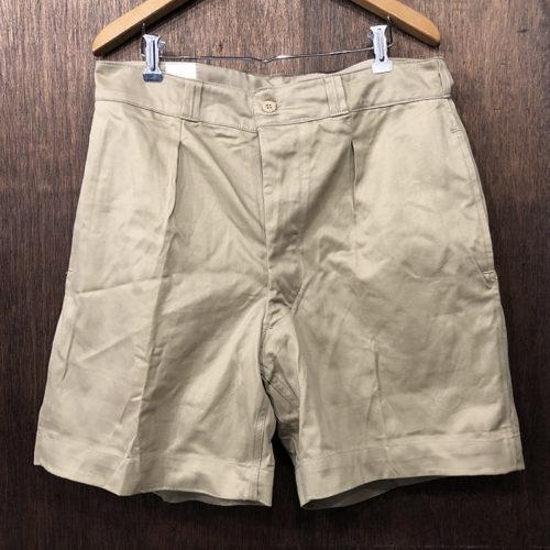 French Army Chino Shorts Size5 Deadstock フレンチ アーミー ショーツ チノショートパンツ サイズ5 オリジナル デッドストックコンディション