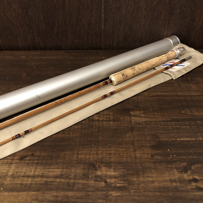 Pezon et Michel Parabolic Speciale Competition 8ft Bamboo Cane Rod ペゾン ミッチェル パラボリック スペシャル コンペティション バンブー フライ ロッド