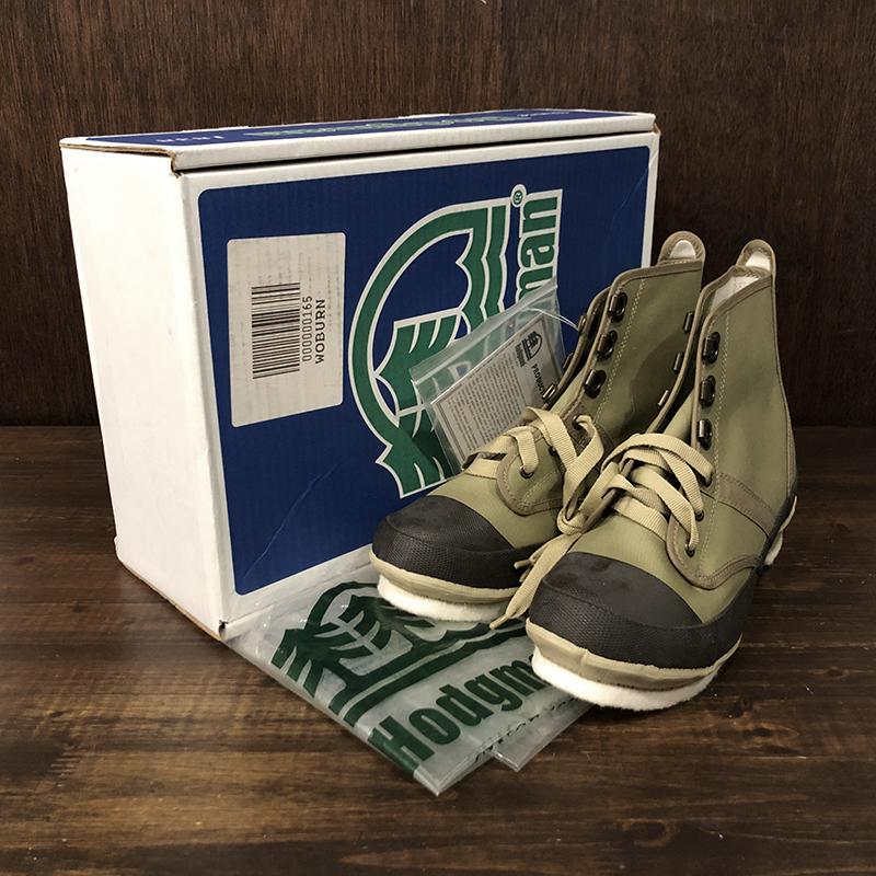 Hodgman Caster Felt Sole Wading Shoe Size8 Deadstock NIB ホッジマン フェルトソール ウェーディング ブーツ サイズUS Size8 ビンテージ デッドストック品