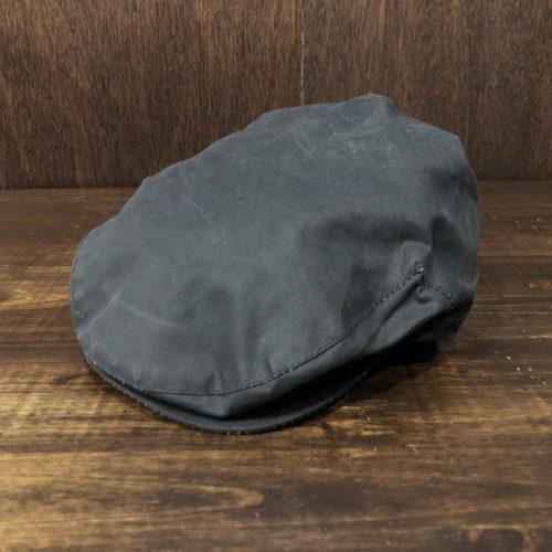 """Barbour Wax Hunting cap Navy 7"""" Deadstock バブアー ワックス ハンチング キャップ ネイビーカラー 57cm オリジナル 3ワラント初期 ビンテージ デッドストック品"""