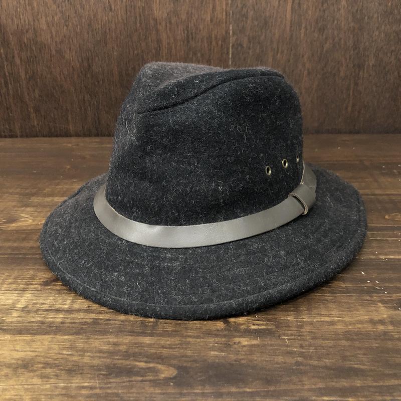 Filson Mackinaw Wool Packer Hat Blk M フィルソン マッキーノ ウール パッカーハット ブラック オリジナル ビンテージハット