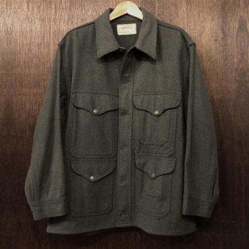 Filson Forsett Cloth Single Mackinaw Cruiser Olive Green Union Made フィルソン シングルマッキーノ クルーザー ダークオリーブグリーン ウール ハンティングジャケット 初期ビンテージ