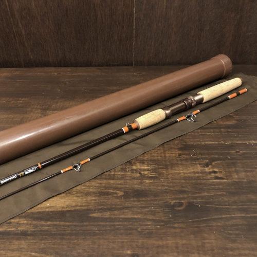 Browning Silaflex 032906 Spinnig Rod With Case Deadstock ブローニング サイラフレックス オールドスピニングロッド ロッドケース付属 オリジナル デッドストック
