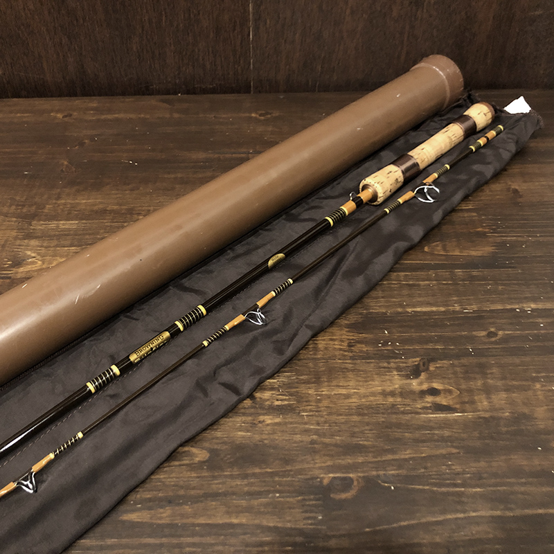 Browning Silaflex 332955 Spinnig Rod With Case Mint ブローニング サイラフレックス 332955 オールド ビンテージ スピニングロッド ロッドケース付属 ミントコンディション