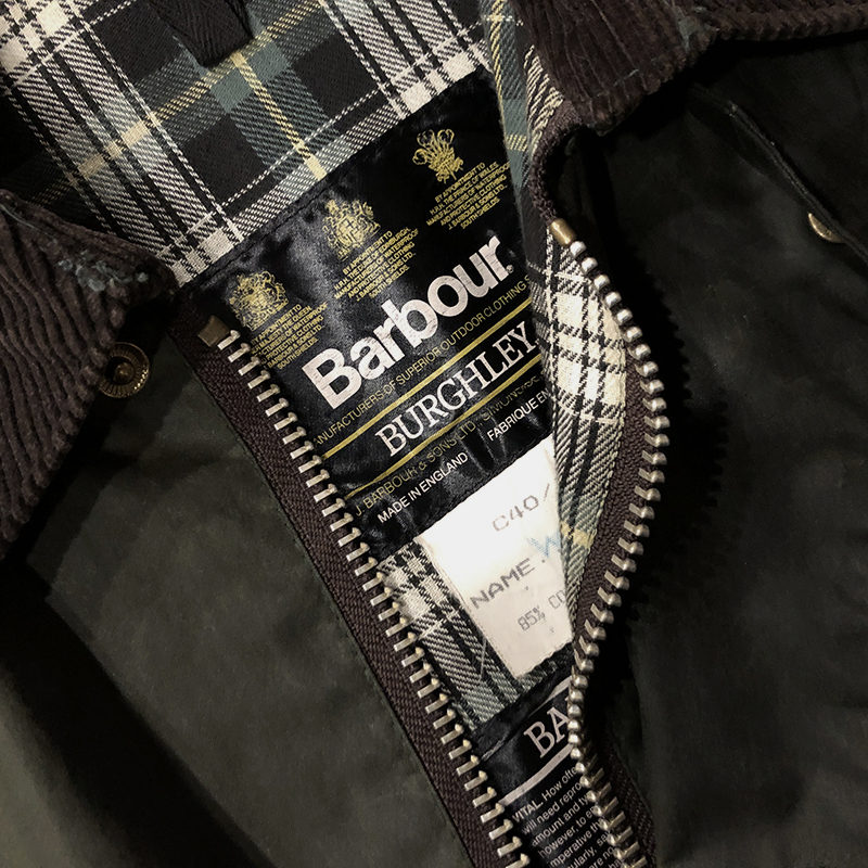 Barbour Burghley Coat
