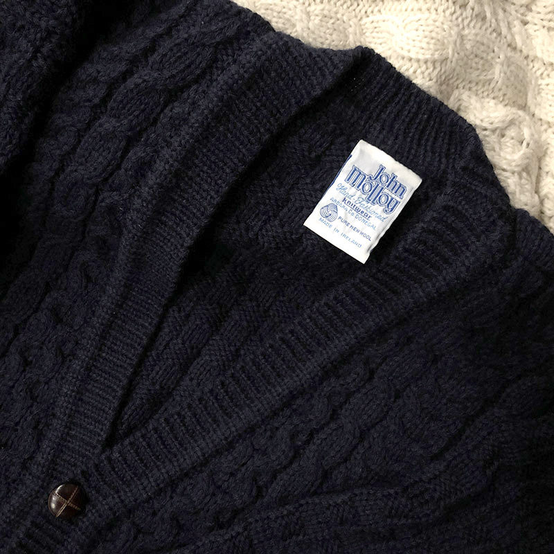John Molloy Fisherman Cardigan