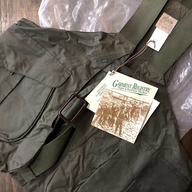 Filson Oiled Hunting Vest