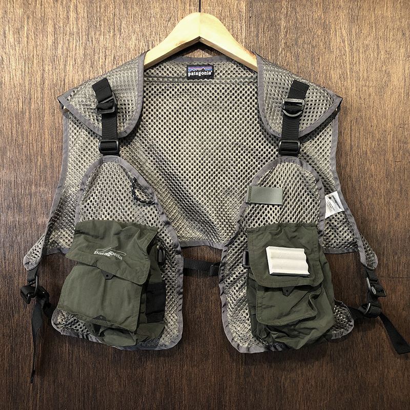 Patagonia Minimalist Mesh Vest Convertible Type M/L Mint パタゴニア ミニマリスト メッシュベスト コンバーチブルタイプ ミントコンディション