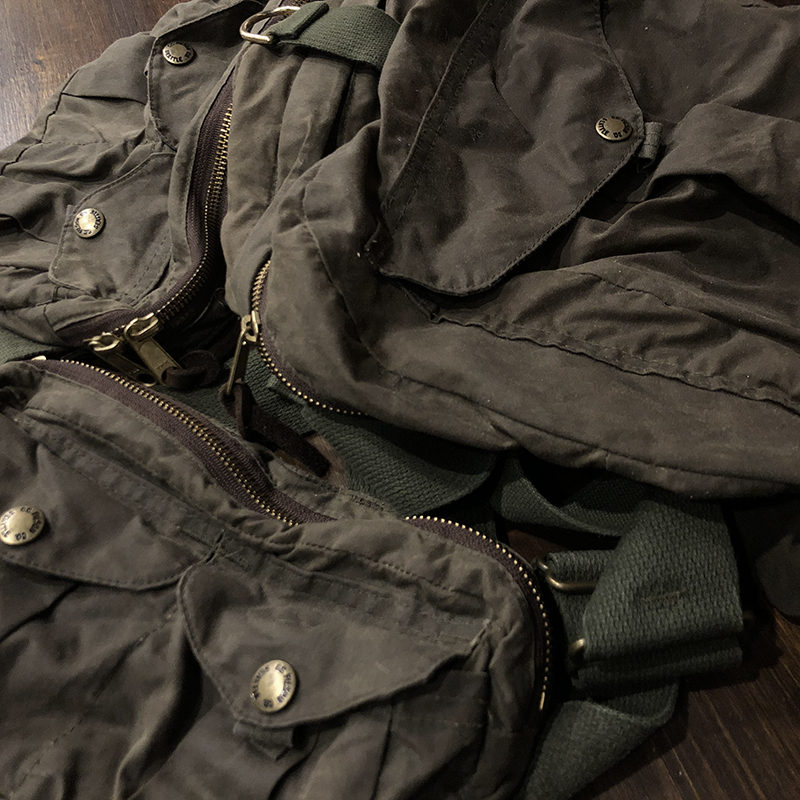 Filson Foul Weather Strap Vest