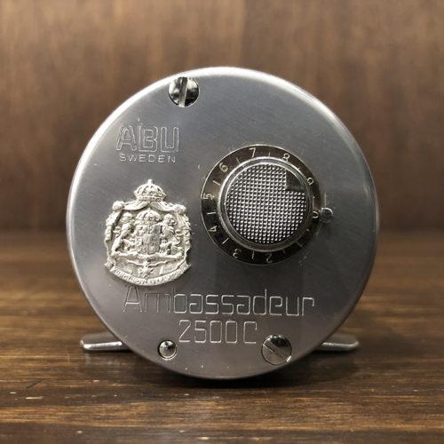 Abu Ambassadeur 2500C Bait Casting Reel 760300 アブ アンバサダー 2500C のベイトキャスティングリール 76年製 ビンテージ オリジナル