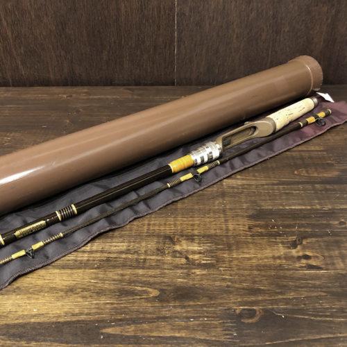 Browning Silaflex 312930 6.5ft Bait Casting Rod with Sox & Case ブローニング サイラフレックス オールドベイトキャスティングロッド オリジナルソックス ケース付属 ビンテージ