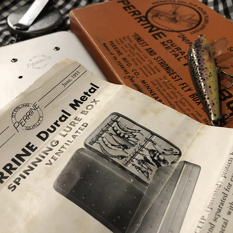 Perrine Box for Spinning Lures