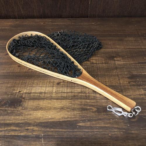 Narrow Oval Old Wood Fishing Randing Net 47cm ナロー オーバル ウッド ランディングネット 48cmサイズ ビンテージ