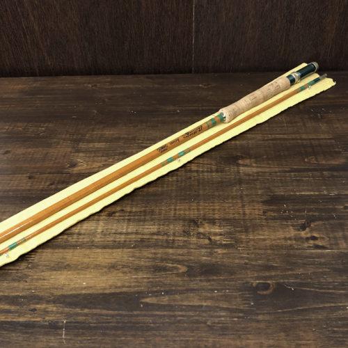 Phillipson Aristo A86B Butter Scotch Eponite Glass Fly Rod with Sox Mint フィリプソン アリスト バタースコッチ エポナイト グラスファイバー フライロッド ロッドソックス付属 ビンテージ オリジナル ミントコンディション