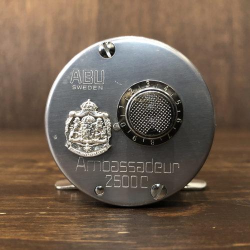 Abu Ambassadeur 2500C 751000 Bait Casting Reel 1975年 最初期 ビンテージ ベイトキャスティングリール オリジナル