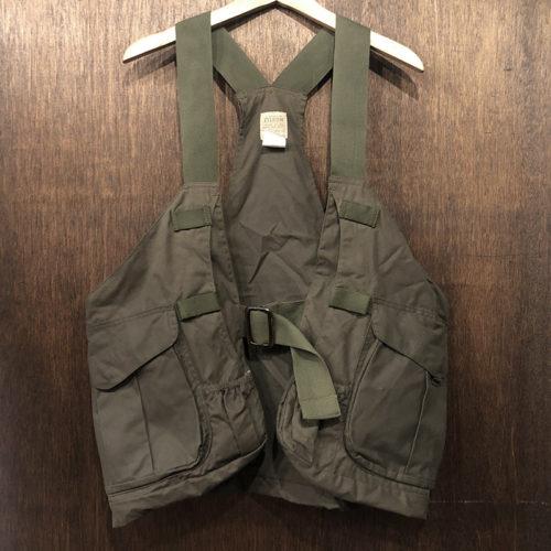 Filson Oiled Hunting Strap Vest OT REG Deadstock フィルソン オイルドクロス ハンティング ストラップ ベスト オッターグリーン デッドストック品