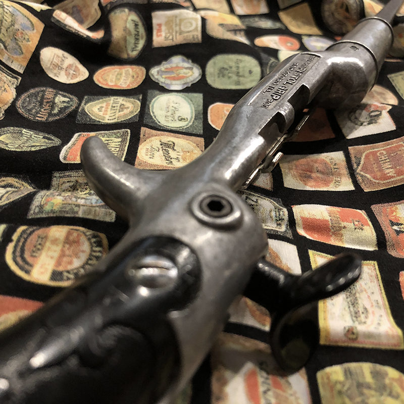 Nelson Pistol Grip Steel Blanks Assy