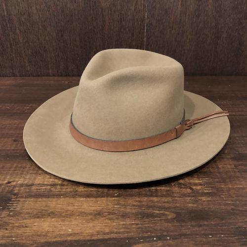 Stetson Eddie Bauer The Gun Club Compressed Wool Felt Hat 7-3/8 Deadstock ステットソン エディーバウアー ガンクラブ アウトドア フェルトハット ビンテージ デッドストック品