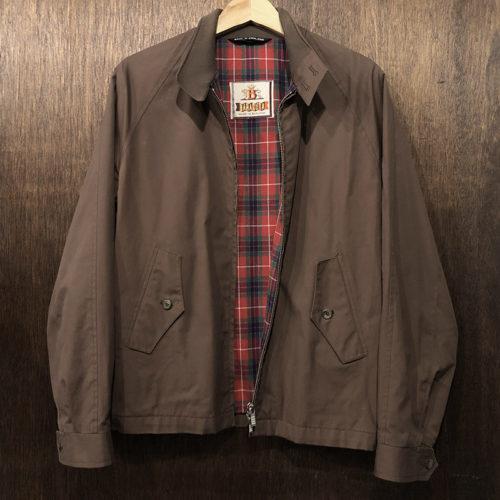 Baracuta G4 Driving Coat Jacket Brown 38 Made in England Mint バラクータ G4 ドライビング コート ジャケット ブラウン サイズ38 英国製 オールド オリジナル