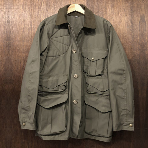 Filson Shelter Cloth Hunting Jacket OT S Deadstock フィルソン シェルタークロス ハンティング ジャケット オッターグリーンカラー Sサイズ 旧モデル Made in USA オリジナル ビンテージ