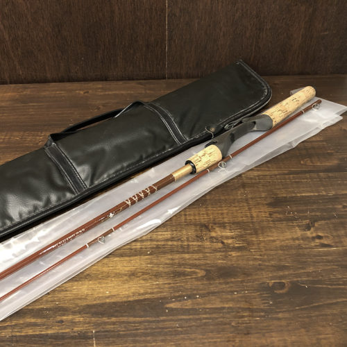 Fenwick FC60 Glass Bait Casting Rod Early Original Alloy Cork Grip with Case Deadstock フェンウィック オールド グラス ビンテージ ベイトキャスティングロッド ケース デッドストックコンディション